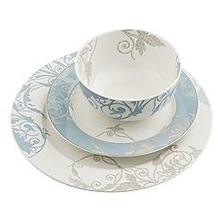 Belleek Living - Novello 12 piece porcelain dinner set
