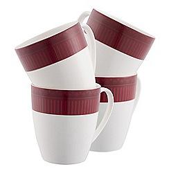 Aynsley China - Fortuna four mug set