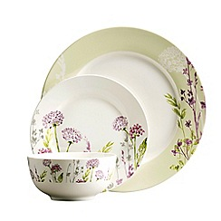 Aynsley China - Floral spree 12 piece set