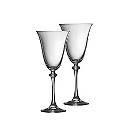 Galway Living - Liberty pair of wine goblets
