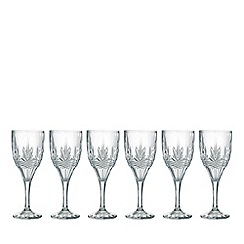 Galway Living - Kells goblet set of six