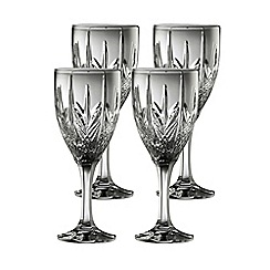 Galway Living - Galway crystal abbey goblet set of 4