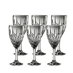 Galway Living - Galway crystal abbey goblet set of 6