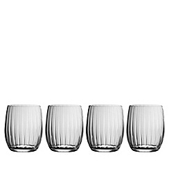 Galway Living - Erne set of four tumbler glasses
