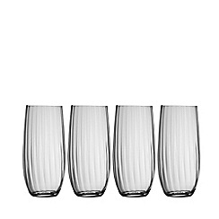 Galway Living - Erne set of four hi-ball glasses