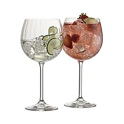 Galway Living - Erne set of 2 crystal gin glasses