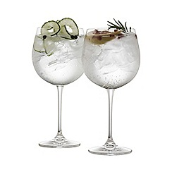 Galway Living - Clarity pair of crystal gin glasses