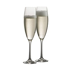 Galway Living - Elegance pair of prosecco/champagne glasses