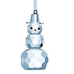 Galway Living - Hanging gem snowman ornament