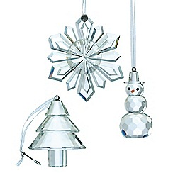 Galway Living - Hanging crystal ornaments set of three