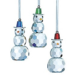 Galway Living - Hanging snowman ornament - 3 pack
