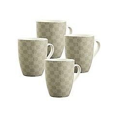Aynsley China - Set of 4 Merino Mugs