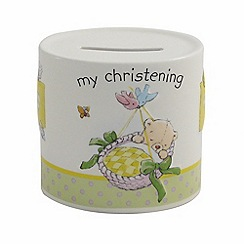 Aynsley China - Ivory 'My Christening' Moneybox