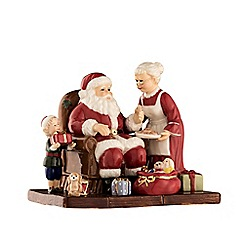 Aynsley China - Santa and Mrs Claus figurine
