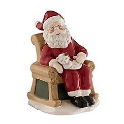 Aynsley China - Santa and Christmas chair figurine
