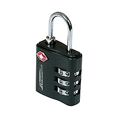 Travel Blue - TSA black  Combi Lock