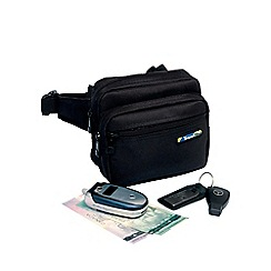 Travel Blue - Black 'Metro Pouch'