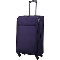 Tripp - Grape 'Full Circle' 4 wheel medium suitcase