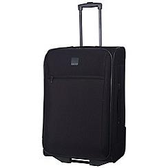 Tripp - Black 'Glide Lite III' 2 wheel medium suitcase