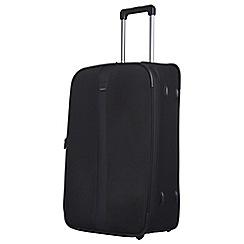 Tripp - Black 'Superlite III' 2 wheel medium suitcase