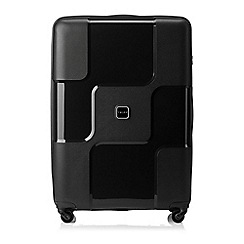 Tripp - Black II 'World' Large 4 wheel suitcase