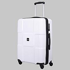 Tripp - White II 'World' 4-wheel medium suitcase