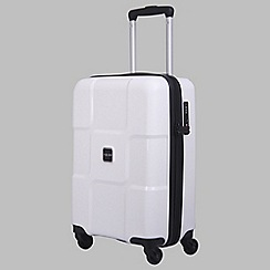 Tripp - White II 'World' Cabin 4-wheel suitcase