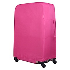 Tripp - Magenta 'Accessories' medium suitcase cover