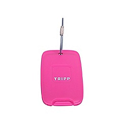 Tripp - Magenta 'Accessories' luggage tag