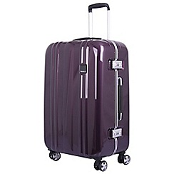 Tripp - Amethyst 'Absolute Lite II' medium 4-wheel case
