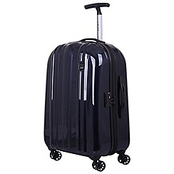 Tripp - Ink blue 'Absolute Lite zip' 4 wheel medium suitcase