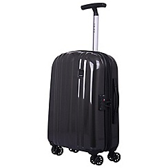 Tripp - Slate 'Absolute Lite zip' 4-wheel cabin suitcase