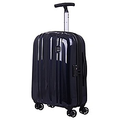 Tripp - Ink blue 'Absolute Lite zip' 4 wheel cabin suitcase