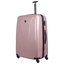 Tripp - Blush 'Chic' large 4-wheel Suitcase