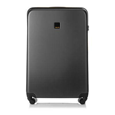 Tripp   Graphite 'style Lite Hard ' Large 4 Wheel Suitcase by Tripp