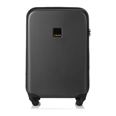Tripp   Graphite 'style Lite Hard' Cabin 4 Wheel Suitcase by Tripp