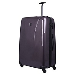 Tripp - putty gloss 'Lite' Large 4-wheel suitcase