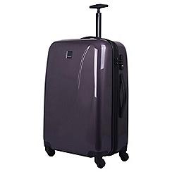 Tripp - putty gloss 'Lite' medium 4-wheel suitcase