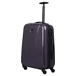 Tripp - putty gloss 'Lite' cabin 4-wheel suitcase