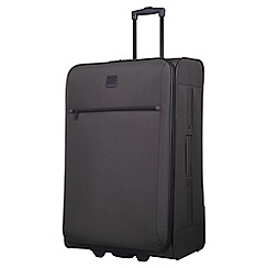 Tripp - graphite 'Glide Lite III' 2-wheel large suitcase