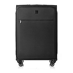 Tripp - Black 'Full Circle' medium 4-wheel suitcase