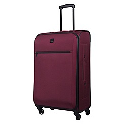 Tripp - scarlet 'Full Circle' medium 4-wheel suitcase