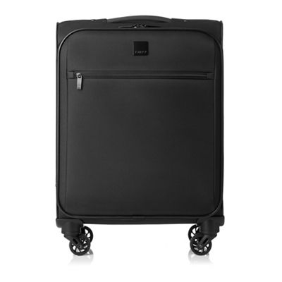 Tripp   Black 'full Circle' Cabin 4 Wheel Suitcase by Tripp