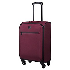Tripp - scarlet 'Full Circle' cabin 4-wheel suitcase