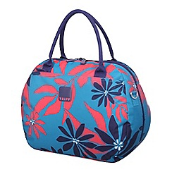 Tripp - Ultramarine/poppy 'Sunshine Flower'  holdall