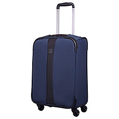Tripp - Ink blue 'Superlite 4W' cabin 4 wheel suitcase