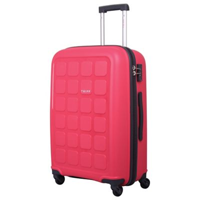 Tripp   Raspberry 'holiday 6' Medium 4 Wheel Suitcase by Tripp