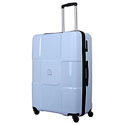 Tripp - Ice blue 'World' Large 4 wheel suitcase