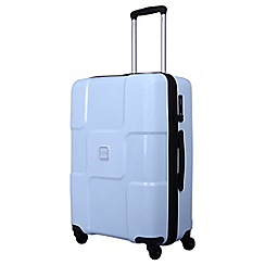 Tripp - Ice blue 'World' medium 4 wheel suitcase
