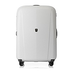 Tripp - White 'Ultimate Lite  II' large 4 wheel suitcase